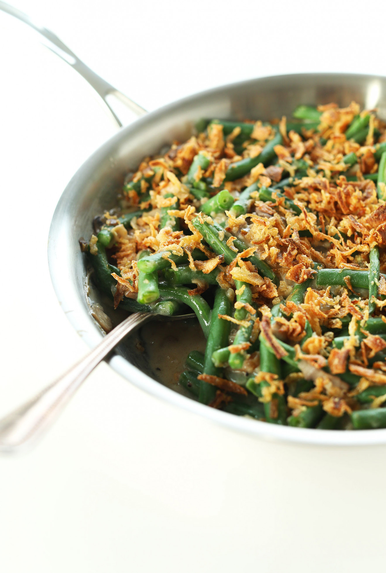 Vegan Green Bean Casserole | Minimalist Baker Recipes