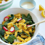 Vegan Kale Caesar Pasta Salad | Recipe | Vegetarian/Vegan …