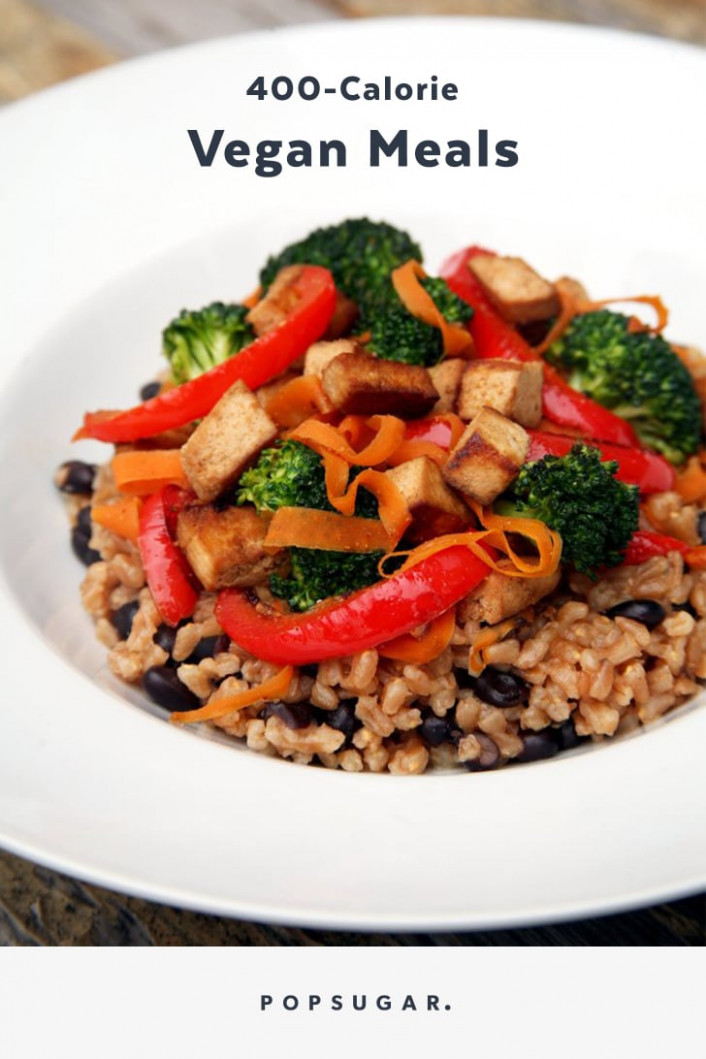 Vegan Meals Offering Complete Proteins Under 10 Calories ...