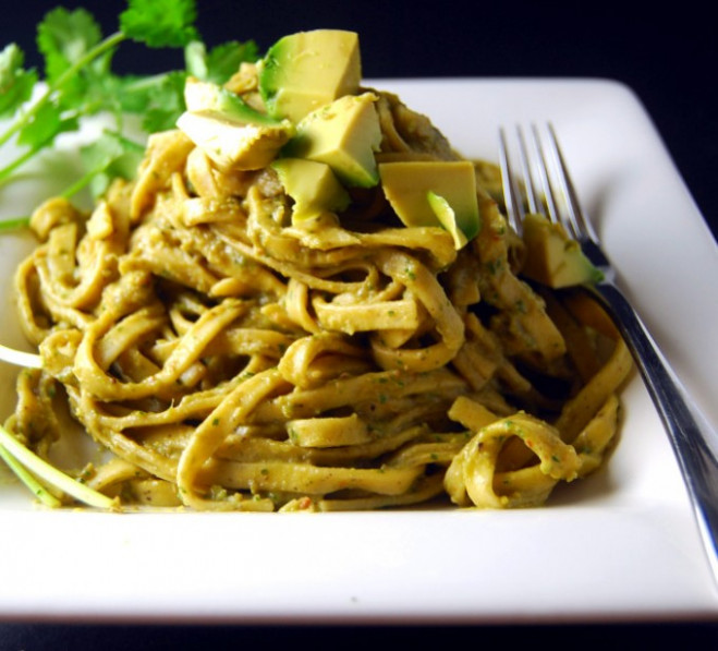 Vegan Pasta Avocado - Holy Cow! Vegan Recipes