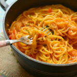 Vegan Pasta Skillet In Rich Tomato And Vegetable Sauce …