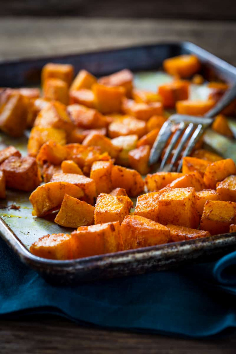 vegan roasted butternut squash recipes