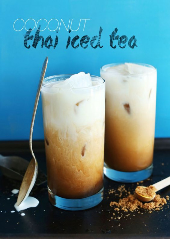 Vegan Thai Iced Tea | Recipe | Iced Tea, Coconut Milk and Teas