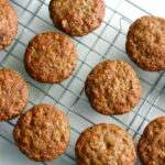 Vegan Zucchini Muffins. - The Pretty Bee
