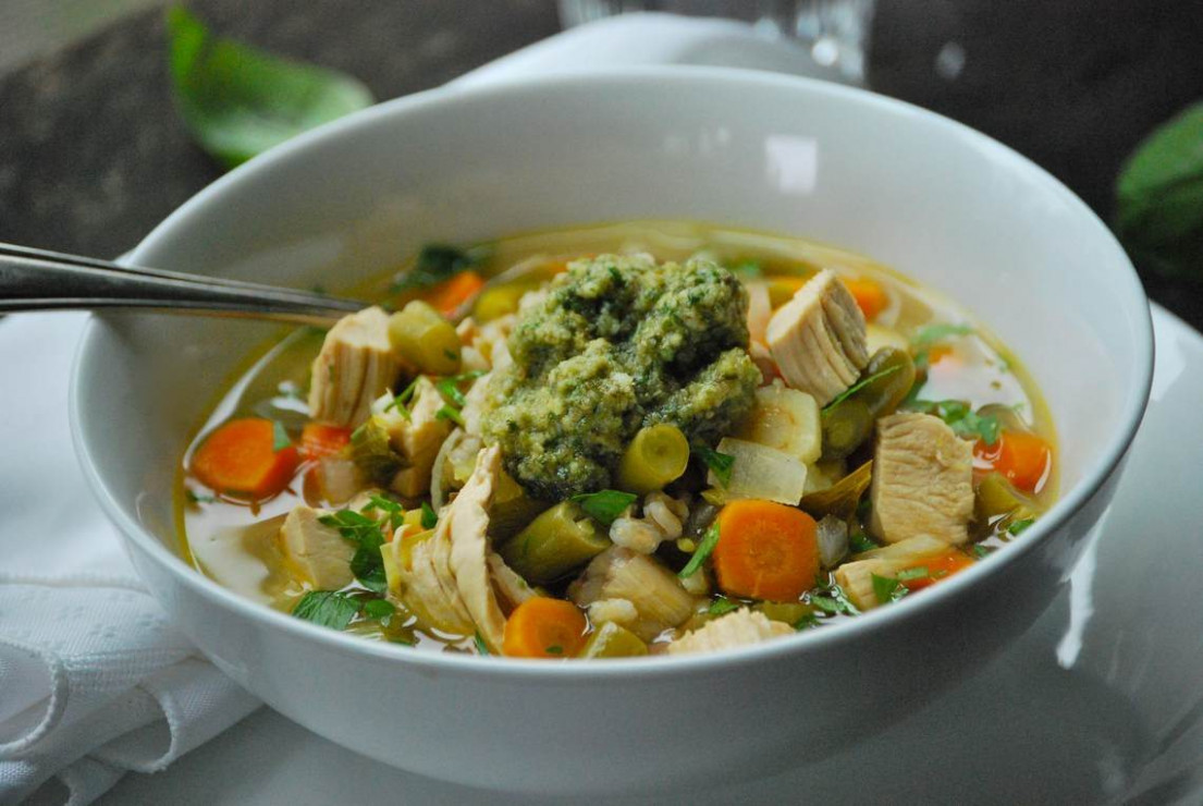 Vegetable Chicken Soup : Glorious Soup Recipes
