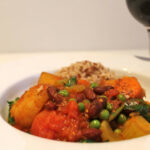 Vegetable Curry With Kidney Beans