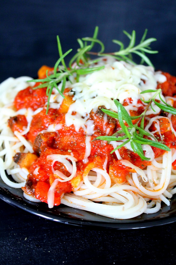 Vegetable Spaghetti Sauce, Homemade From Scratch!