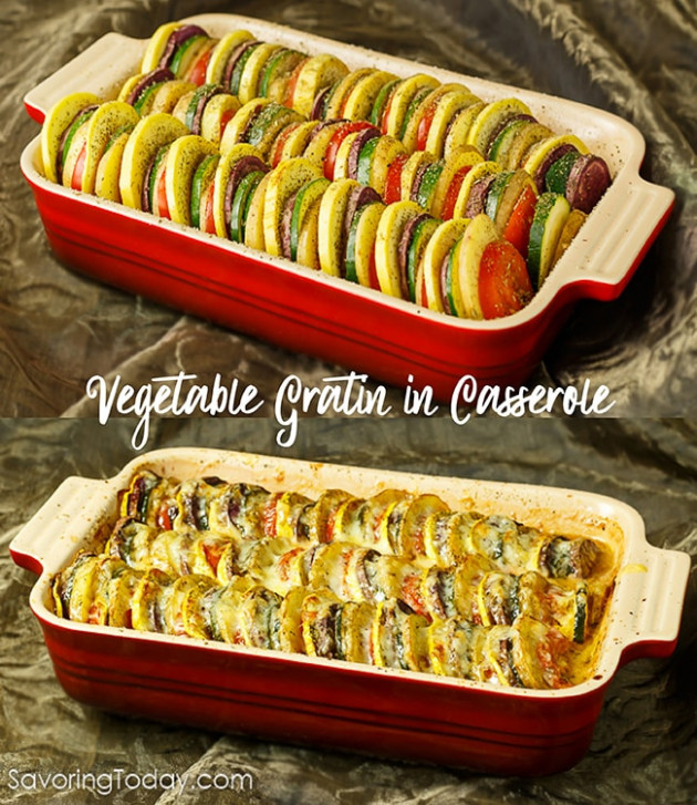 Vegetable Tian: Classic Gratin Comfort for Healthy Holiday ...