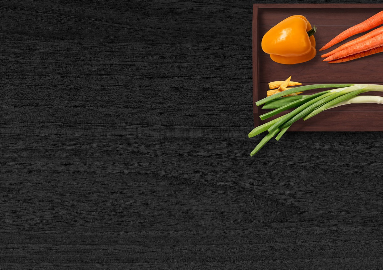 Vegetables, Table, Tray, Paprika