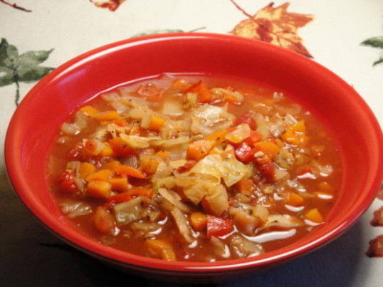 Vegetarian Cabbage Soup Recipe - Genius Kitchen
