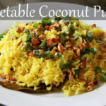 Vegetarian Coconut Rice Recipe | Quick & Easy Indian Lunch …