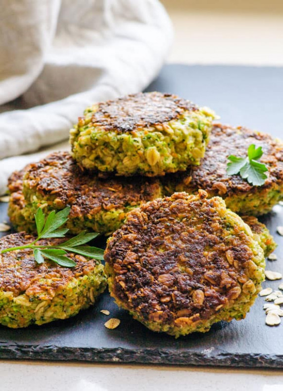 Vegetarian Oatmeal Patties - iFOODreal - Healthy Family ...