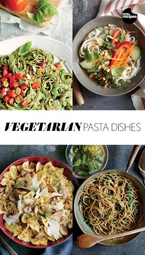 Vegetarian Pasta Dishes | Vegetarian Recipes | Vegetarian ...