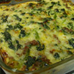 Vegetarian Spinach, Cheese And Sausage Casserole Recipe …