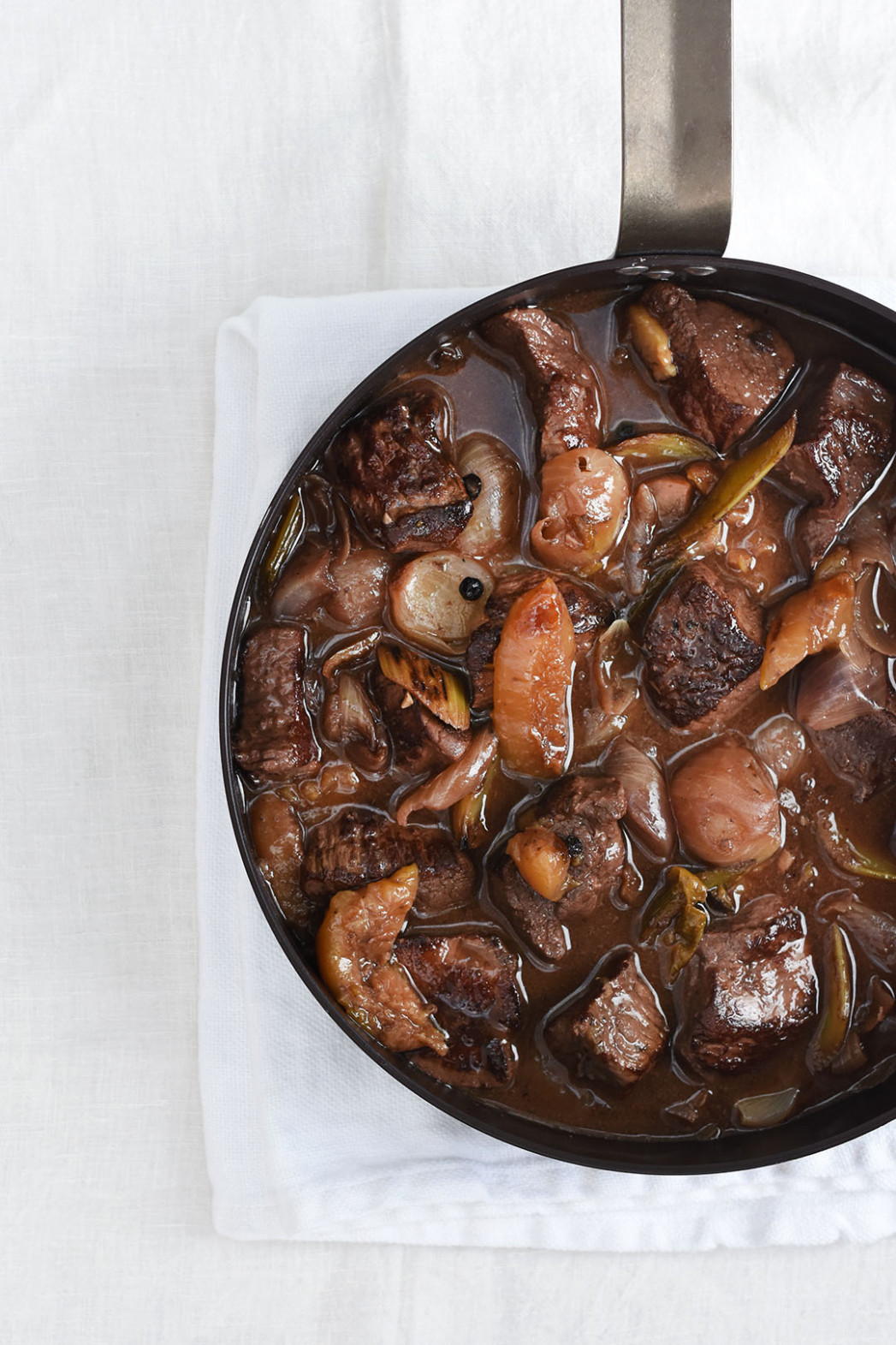 Venison, Plum and Port Casserole