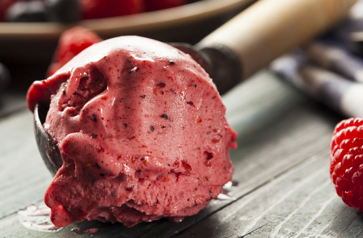 Very Berry Ice Cream | Healthy Homemade Ice Cream Recipe ...