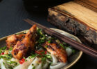 vietnamese grilled chicken with ginger lime noodle salad