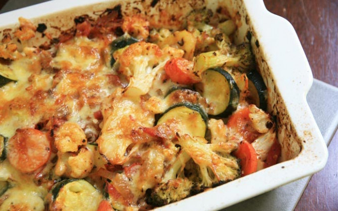 [Virtual Cooking Class] Cheesy Vegetable Bake