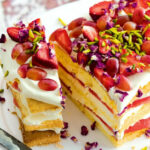 Watermelon And Rose Layer Cake – Recipes – Delicious.com