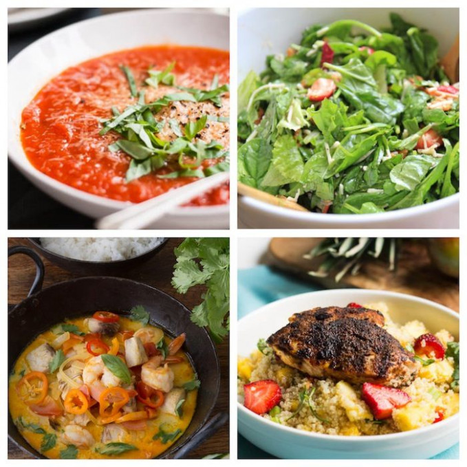 Week 2 Meal Plan: No Gluten, No Dairy, No Sugar - | The ...