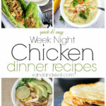 Week Night Chicken Dinner Recipes – Page 2 Of 9 – Sand And …