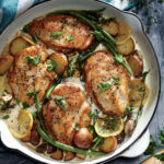 Weeknight Lemon Chicken Skillet Dinner Recipe | MyRecipes