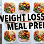 WEIGHT LOSS MEAL PREP FOR WOMEN (1 WEEK IN 1 HOUR) – YouTube