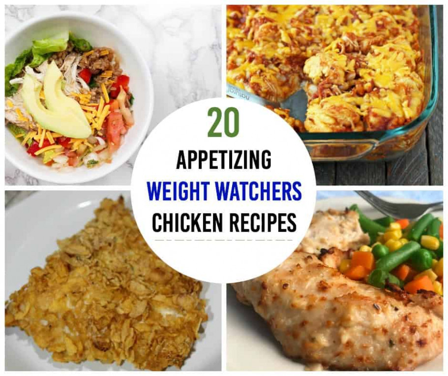 Weight Watchers Chicken Recipes: the Ultimate List! - DIY ...