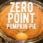 Weight Watchers Freestyle – Zero Point Pumpkin Pie!! Easy!
