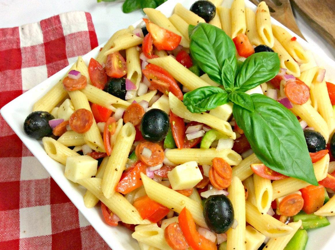 Weight Watchers Pasta Salad - Mess for Less