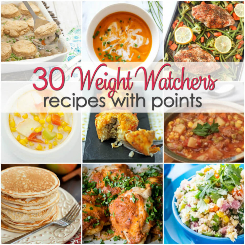 Weight Watchers Recipes with Points | It Is a Keeper