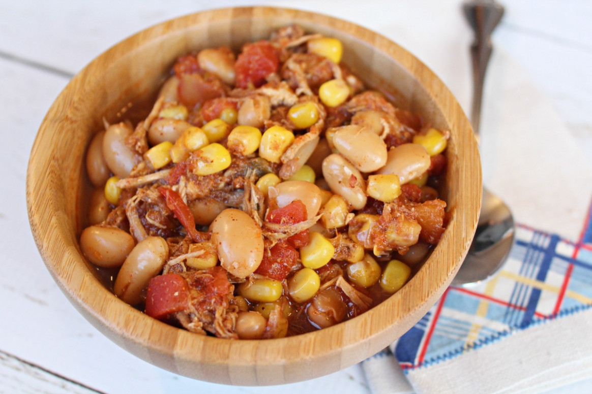 Weight Watchers Slow Cooker Mexican Chicken Chili - Life ...