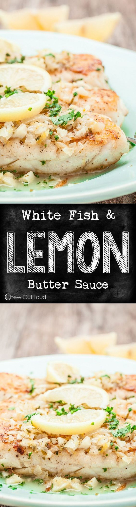 White Fish with Lemon Butter Sauce (+Giveaway) | Recipe ...