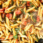 Whole Wheat Penne With Mushrooms, Spinach, And Tomatoes …