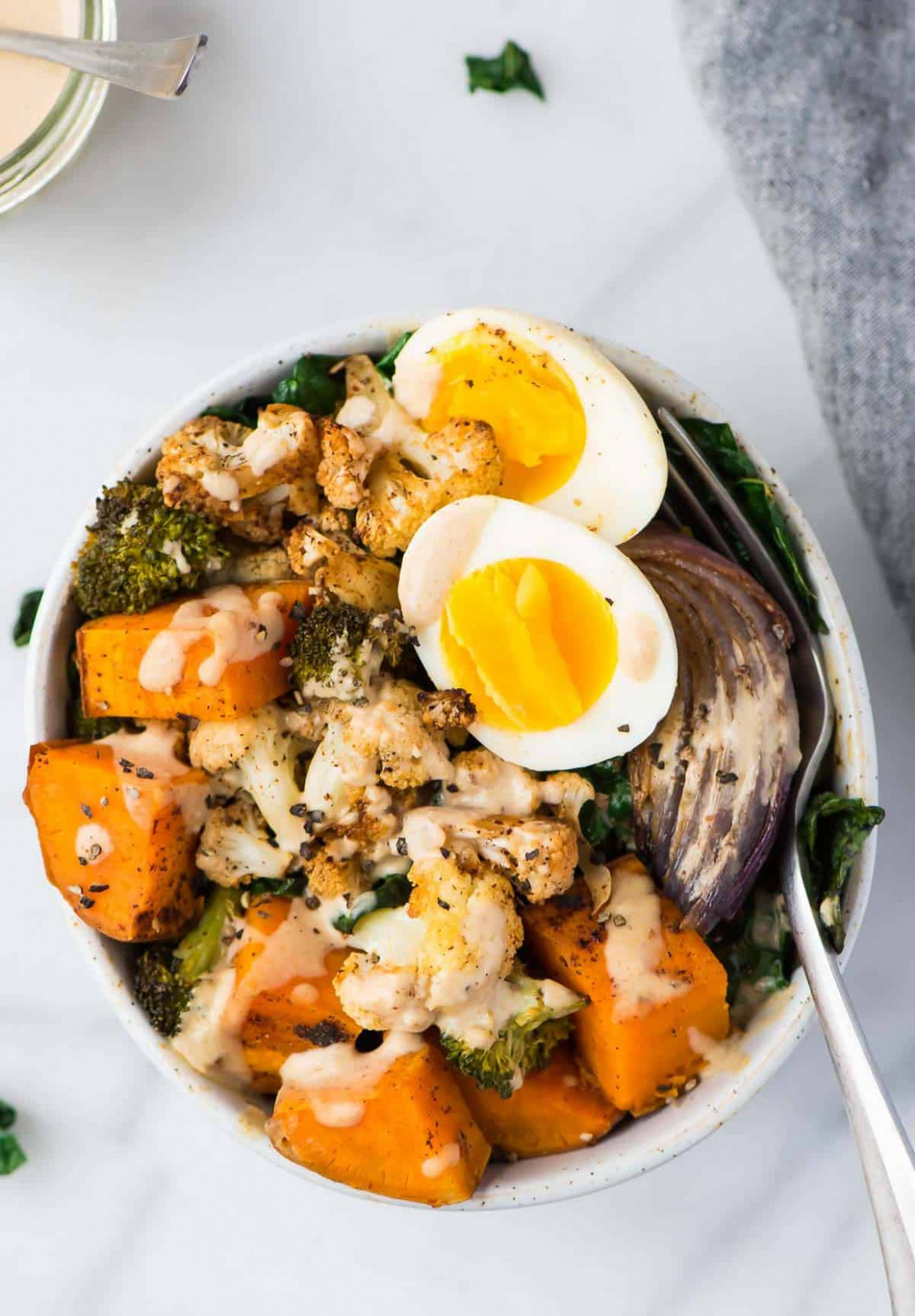 Whole30 Vegetarian Power Bowls | Easy Whole30 Recipe