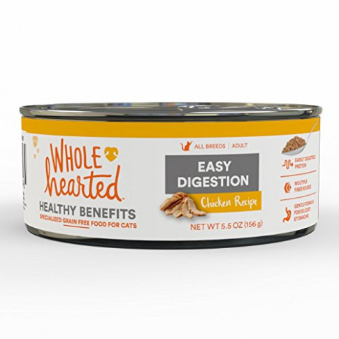 WholeHearted Easy Digestion Chicken Recipe Adult Wet Cat ...