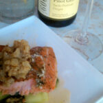 Wine Pairing: Gris & Steelhead Trout w/Honeydew & Fried Shallots