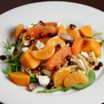 Winter Fruit Salad With Whole Wheat Orzo And Arugula