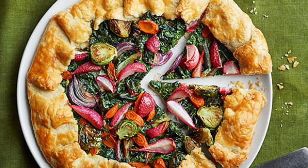 Winter Veggie Tarts Recipe