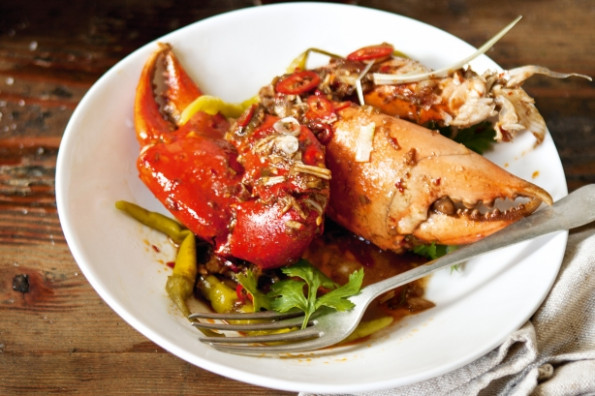 Wok-fried Mud Crab Claws With Tamarind, Galangal & Chilli ...