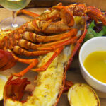 Wood Grilled Lobster With Tomalley Butter And Grilled …