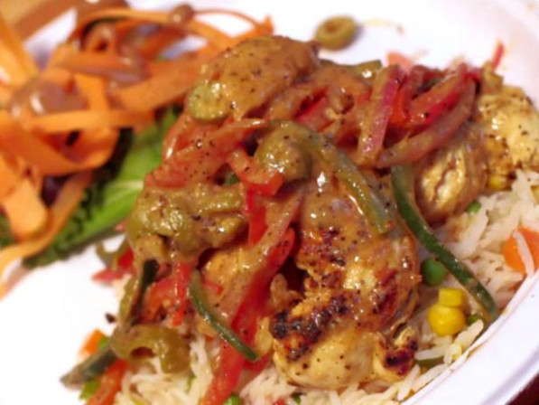 Yassa Chicken : Recipes : Cooking Channel Recipe | Cooking ...