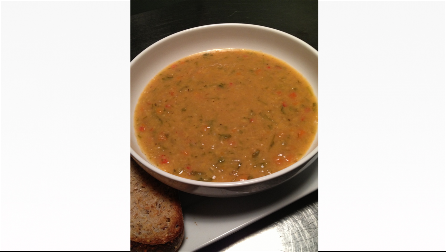 Yellow Lentil Soup Free PD Recipe - Protective Diet