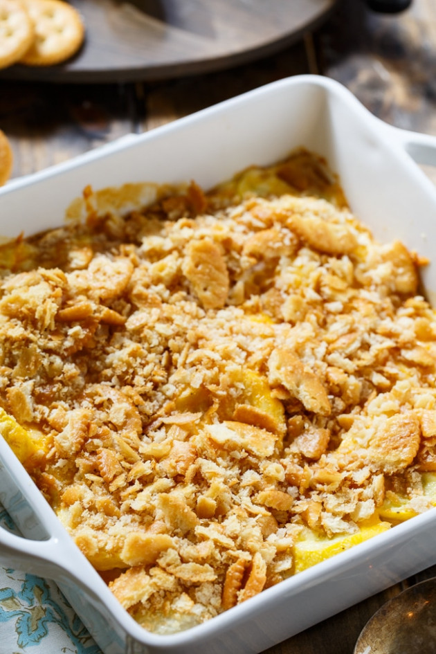 Yellow Squash Casserole - Spicy Southern Kitchen