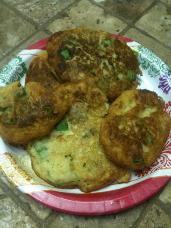 Zelda's Okra Fry Fritters Recipe | Just A Pinch Recipes