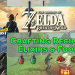 Zelda Breath Of The Wild Best Food Recipes Cooking Dishes …
