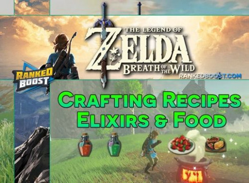 Zelda Breath of the Wild Best Food Recipes Cooking Dishes ...