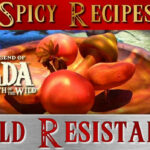Zelda Breath Of The Wild ** Cold Resistance Recipes Guide …