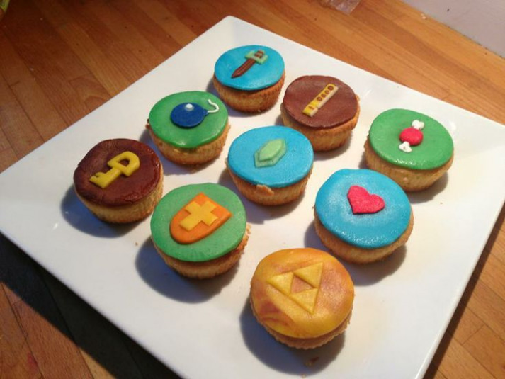 zelda cupcakes idea | Must Try Recipes | Pinterest | Bento ...