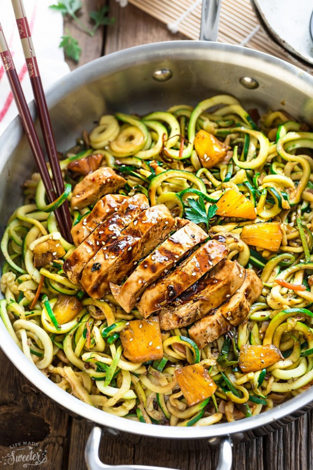 Zoodle Recipes, Easy Delicious Zoodle Recipes for Paleo ...